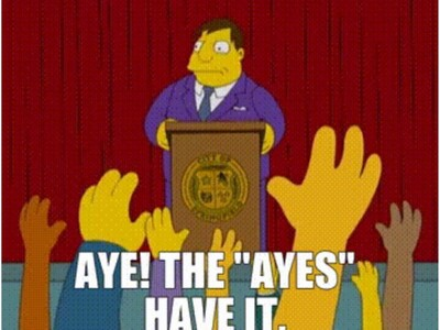 """An """"I"""" for an """"Aye"""" – School Committee Meeting Follows Familiar Pattern"""